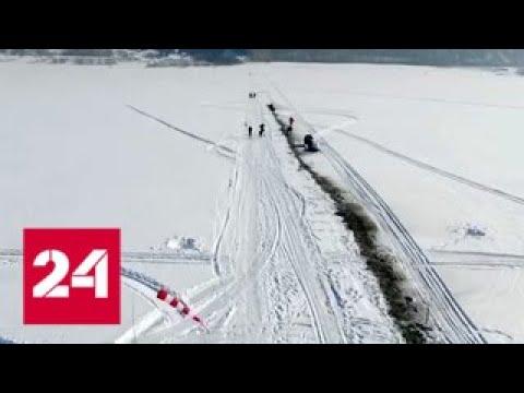 Российские силовики отрабатывают на учениях борьбу с весенними паводками - Россия 24