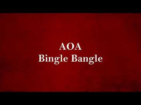 Bingle Bangle - AOA - (English Lyrics)