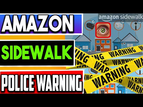 ?AMAZON DEVICES SHARING YOUR WIFI - POLICE WARNING ISSUED !