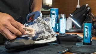 """Head over to http://reshoevn8r.com/ to pick up the Ultimate Sneaker Cleaner. Use promo code """"youtube clean"""" for 15% off your next purchase. This is the 5th ..."""
