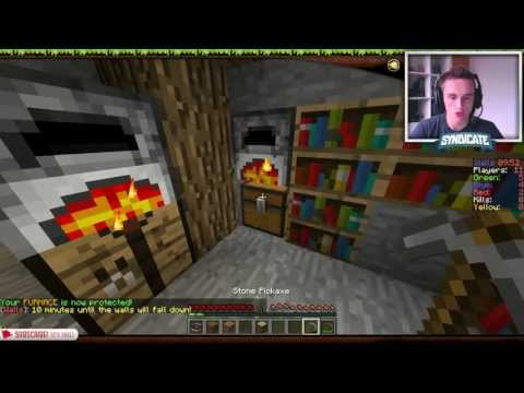 "Minecraft Mini Game ""THE WALLS"" - Domination Teamwork!"