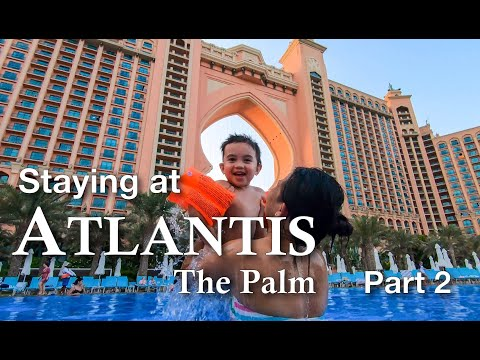 ATLANTIS, The Palm: Sea Lion Point, Dolphin Bay, & Aquaventure (Part 2)