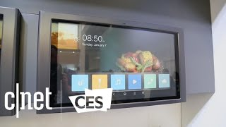 GE Appliances made a big-ass touchscreen for your kitchen