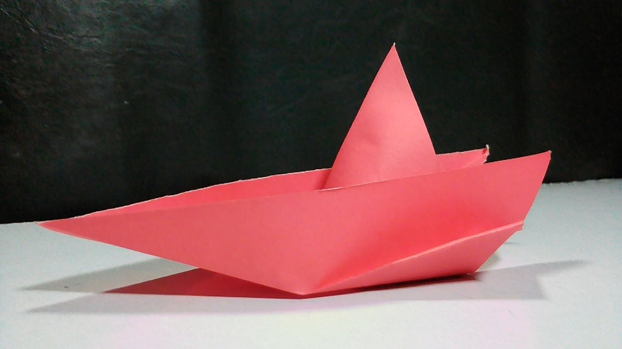 How to make a paper speed boat origami speed boat paper boat how to make a paper speed boat origami speed boat paper boat paper craft malvernweather Images