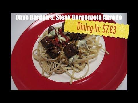 Copycat recipes restaurant recipes – Steak gorgonzola alfredo – Olive Garden
