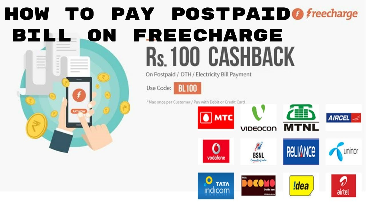 Airtel Online Mobile Bill Payment