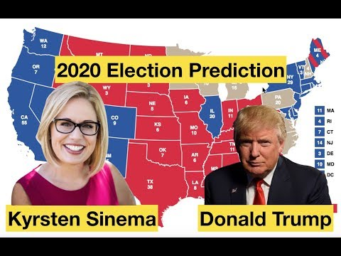 2020 Election Prediction | Kyrsten Sinema vs Donald Trump