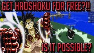 HAOSHOKU / CONQUERORS HAKI   STEVE'S ONE PIECE   ROBLOX   Conquerors Haki Showcase