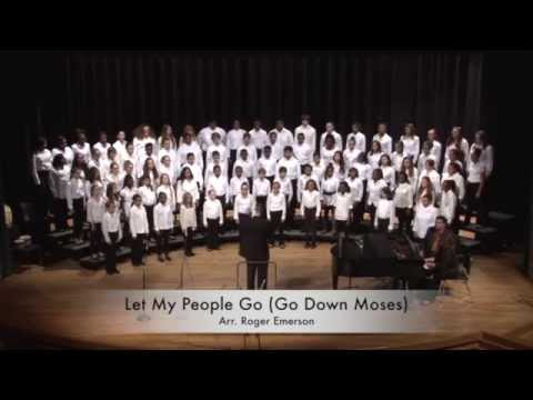 Let My People Go  - Charles County 2014 HS Honors Chorus