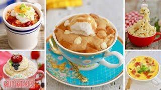 Make-Ahead Microwave Mug Meals (Mug Blondie, Fettuccini Alfredo, Chili & More!)