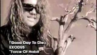 EXODUS - A Good Day To Die (OFFICIAL MUSIC VIDEO)