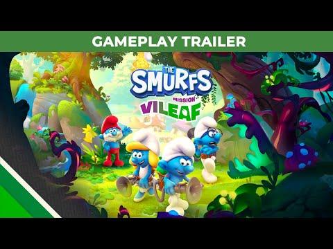 The Smurfs - Mission Vileaf l Gameplay Trailer l Microids & OSome Studio