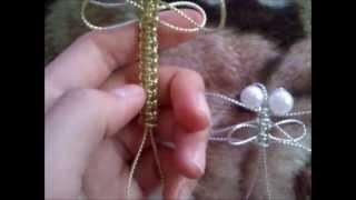 Видео-урок №16, плетём стрекозу