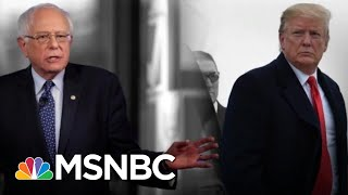 FOX News Viewer Donald Trump Didn't Like Seeing Bernie Sanders On FOX News | The 11th Hour | MSNBC