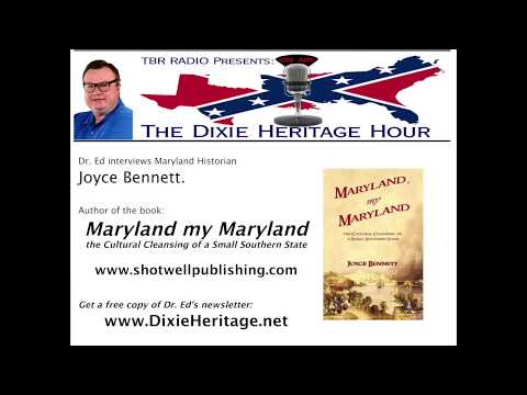 TBR Radio - The Dixie Heritage Hour 02/09/18 - Maryland my Maryland