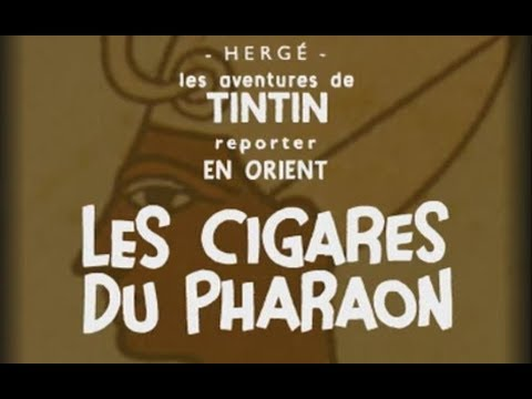 Animation Cigares du Pharaon en noir et blanc