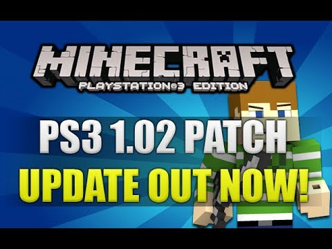 Minecraft PS3: 1.02 Patch Update Out Now Fixing Audio ...