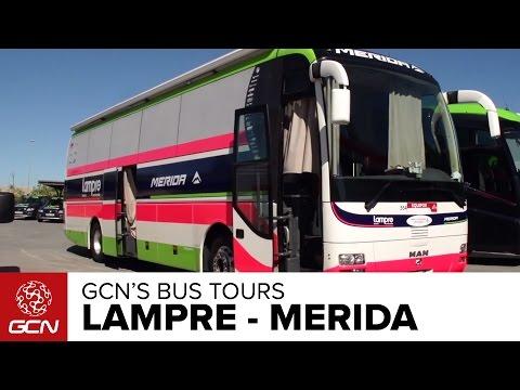 Lampre-Merida Bus Tour   Vuelta A España 2014