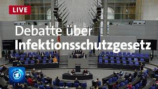 Bundestag debattiert über Änderung des Infektionsschutzgesetzes