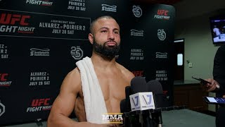 UFC on FOX 30's John Makdessi 'Felt Bad' For Ross Pearson: 'I Didn't Want To Hit Him No More'