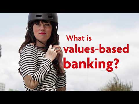 What is values-based banking?