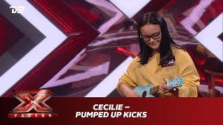 Cecilie synger 'Pumped up Kicks' – Foster The People (Audition) | X Factor 2019 | TV 2
