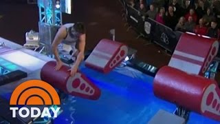Competitor With One Leg Crushes The 'American Ninja Warrior' Course | TODAY
