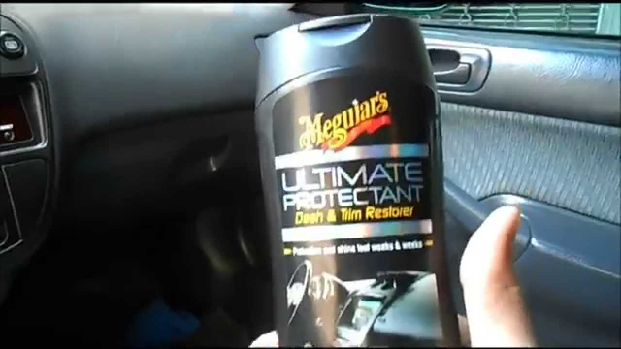 meguiars ultimate protectant timo produto para plasticos