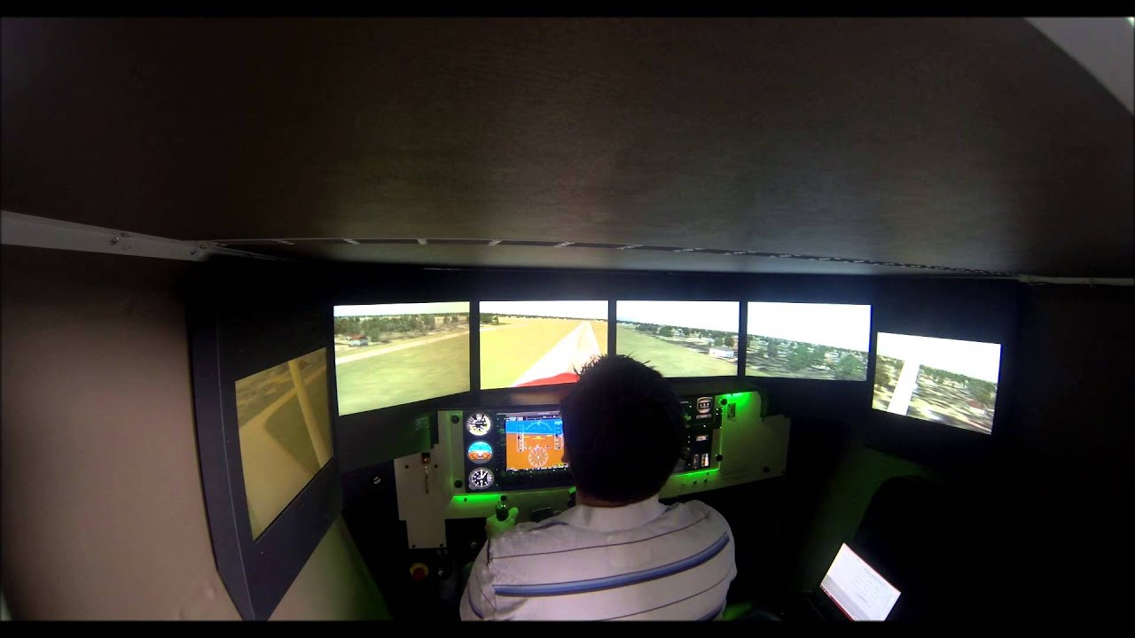 Synergy Flight Center » FMX 1000 AATD (Advance Aviation Training Device)
