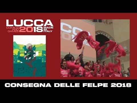 [Lucca Comics & Games] Consegna delle felpe 2018