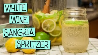 White Wine Sangria Spritzer