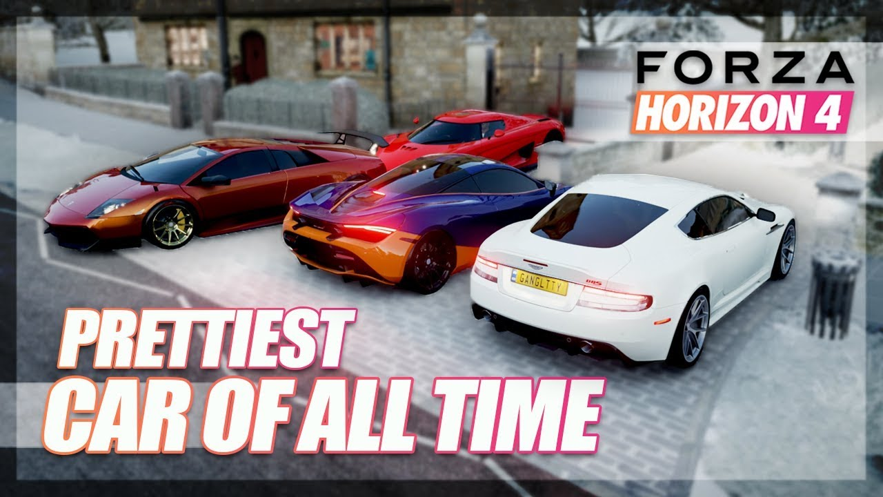 Forza Horizon 4 - The Prettiest Car Challenge! thumbnail