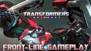Transformers Universe Gameplay - FRONT-LINE - The Butcher!