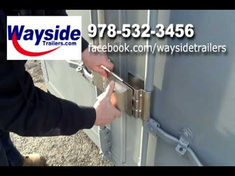 High Security Storage Container Locks Youtube