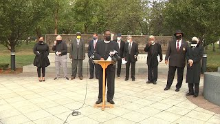 Religious leaders in Boston call for end to police brutality, violence against officers