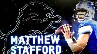 DETROIT LIONS DYNASTY AND SUPER BOWL TIME IS NOW STAFFORD MVP # 9
