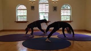 Round Yoga Mat Flow