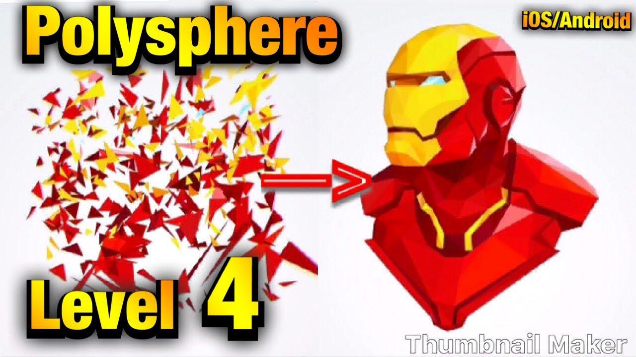 🥇 PolySphere Walkthrough level 4(iOS/Android) | Cheats MOD