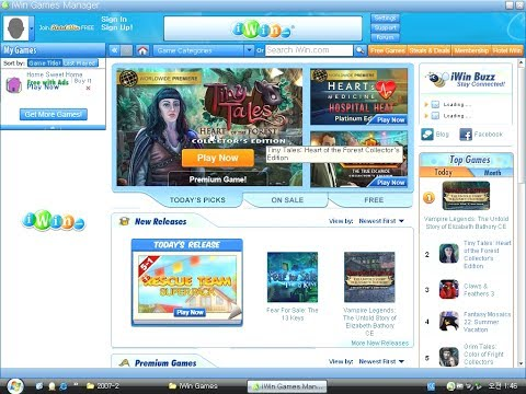 IWin Games Manager (Windows Software 2008)