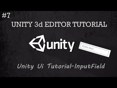 Unity UI Tutorial-Input field & Content handler