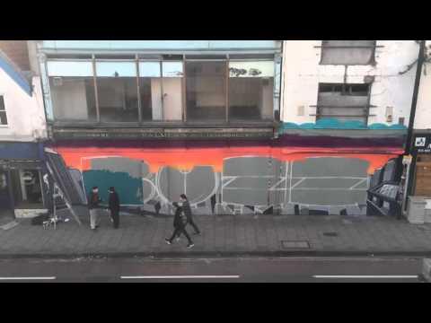 Buzz Tribute Street Art Time Lapse