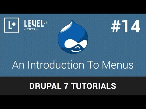 drupal-tutorials-#14---an-introduction-to-menus