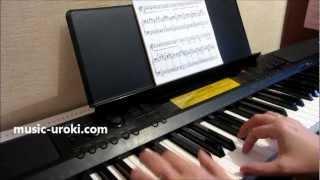 Урок игры на фортепиано. Об интонировании в исполнительстве