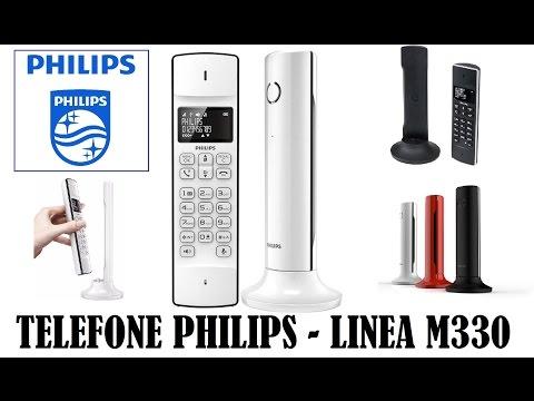 Primeiras impressões e Unboxing - Telefone Philips Linea M330