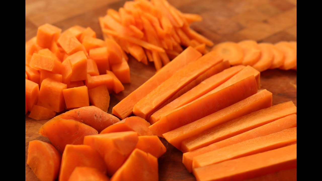Preparation of Carrots