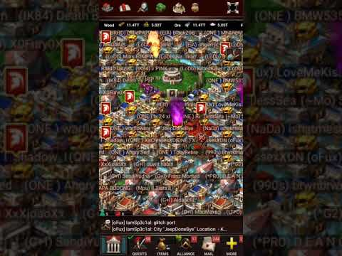 Game of War  SH40 and SH41 CtesseXDN Is out for blood