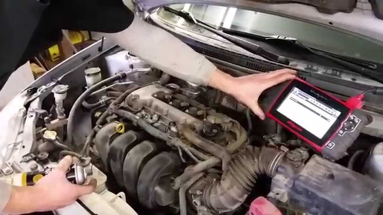 Intake Manifold Vacuum Leak  Toyota Corolla  Vibe  Matrix  YouTube