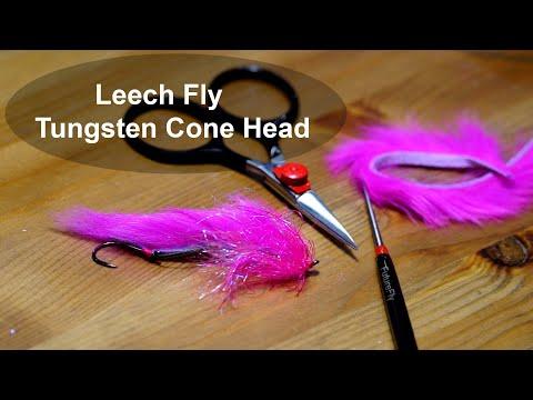 Leech Fly Tungsten Cone Head
