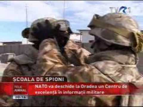 TVR SCOALA OTAN DE SPIONAJ HUMINT ORADEA