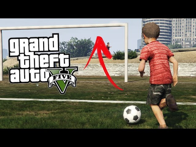 GTA 5 CHILD MOD #5 - CROSSBAR CHALLENGE!